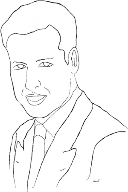 Prince William Coloring Page Printable, coloring page