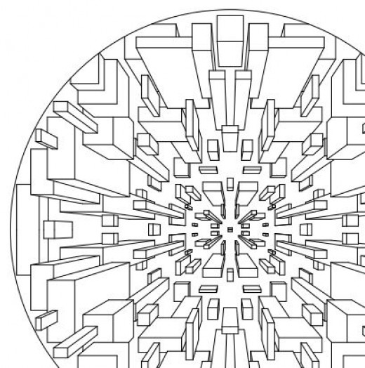 Free Coloring Pages Of Square Mandala Printable Coloring Pages 3d