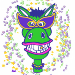 Mardi Gras Coloring Pages and Masks