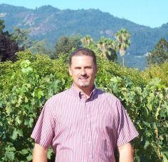 Earnie In A Customers Vineyard