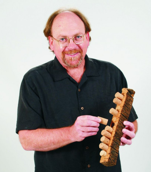 Peter Weber with Cork Tree Bark