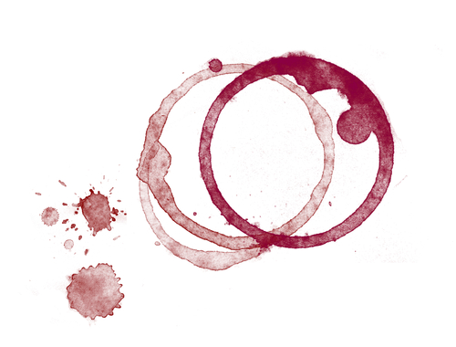 Two Wine Stains
