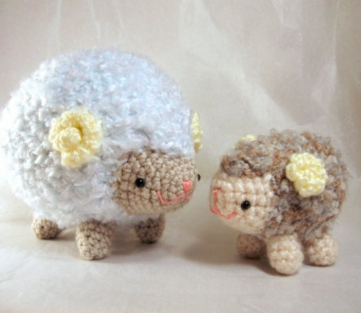 Amigurumi Sheep Family Pattern