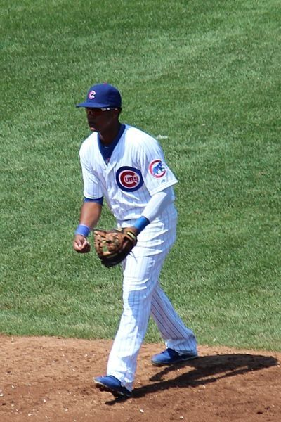 Starlin Castro Playing Shortstop