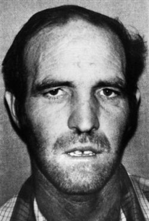 Mug Shot of Ottis Toole, Serial Killer