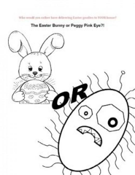 Easter Hygiene Lesson Supplemental Worksheet