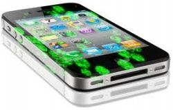 Germs and bacteria on Cell Phone