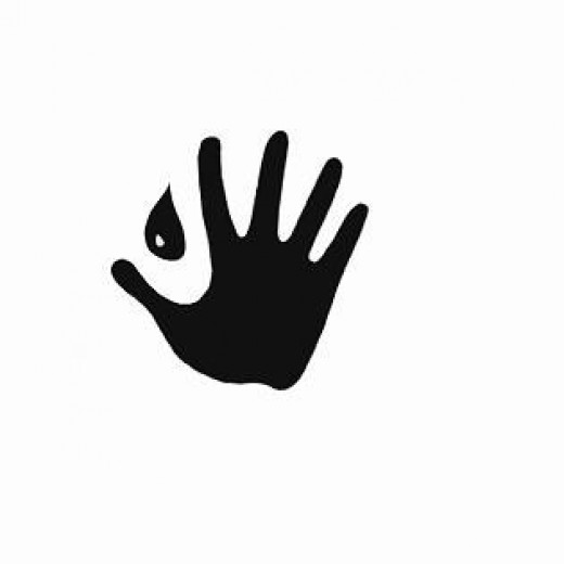 Hand Washing Symbol Icon for Infection Control
