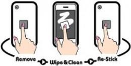 Zig Zig Microfiber Screen Cleaner
