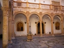 Inside the Castle of La Calahorra