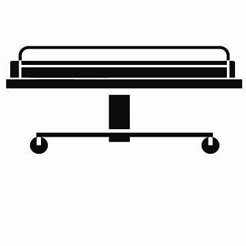 Patient Transportation Hospital Bed Icon