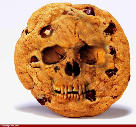 Death by cookie.  Better health with better nutrition.