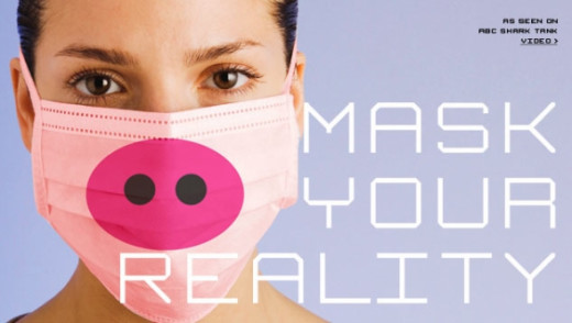 Swine Flu masks... creates more scare than help in the outbreak.