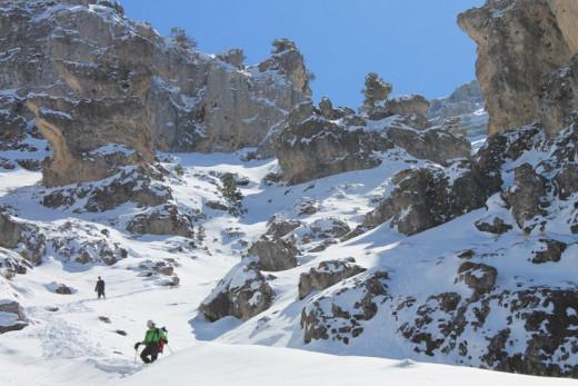 Sierra La Sagra in March.