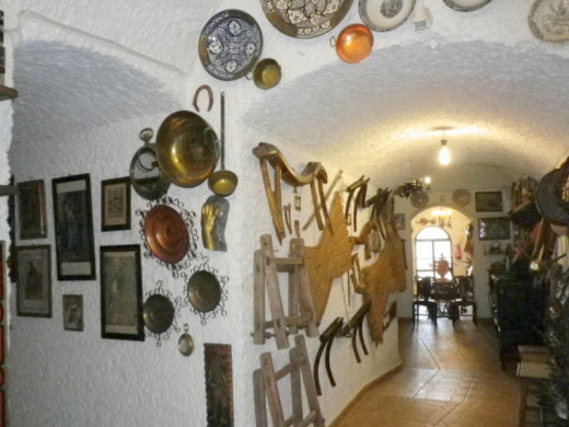 Inside the Cave House Museum