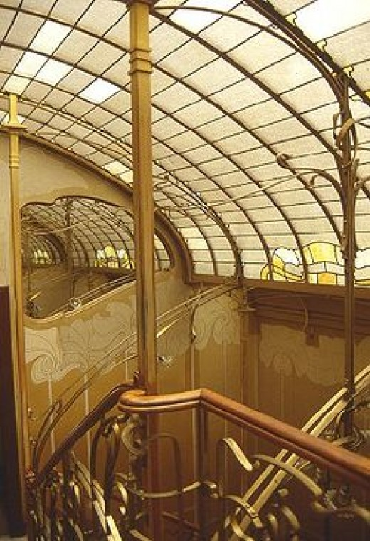 Art nouveau architecture movement for Art et architecture