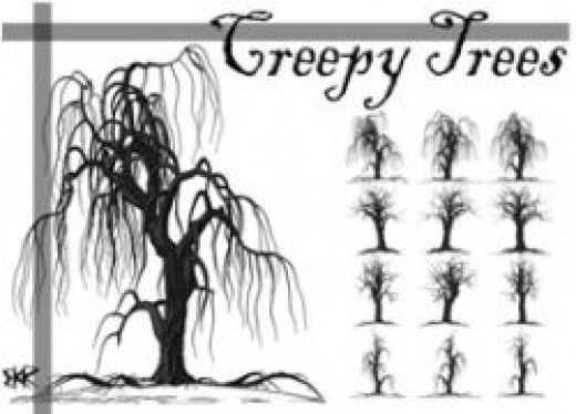 Creepy Trees by deathoflight