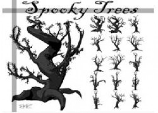 Spooky Trees by deathoflight