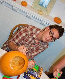 Pumpkin Carving Fail