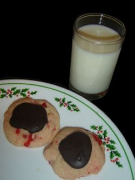 Cookies out for Santa