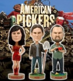 Cool Antiques & Vintage Collectibles found on Antique TV Shows: The American Pickers from Antique Archaeology, Storage W