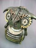 Robot Steampunk Owl