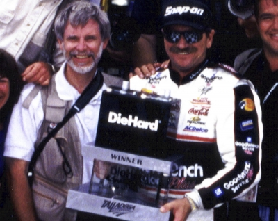 My Husband with Dale, Sr.
