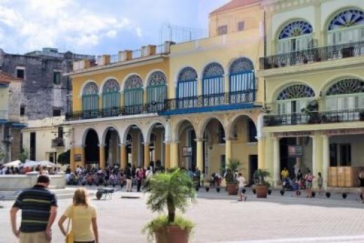 Plaza Vieja, Havana Cuba
