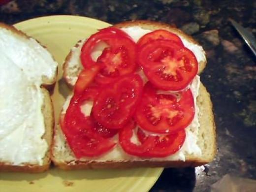 Sandwich looking good!