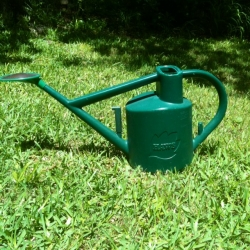 My very own Haws watering can. It was a gift from my daughter for Mother's Day many years ago.