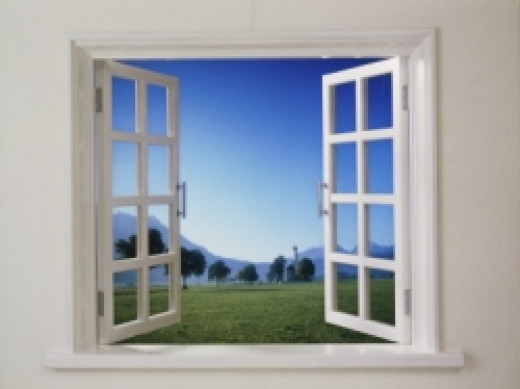 Open window with a view--let in the fresh air--available at allposters.com