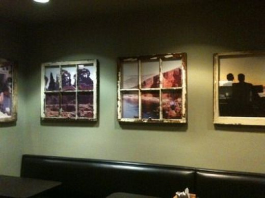 Room with framed views--Taziki's Restaurant in Alabama