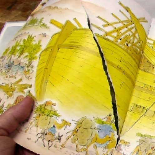 How to Repair a Torn Page in a Book