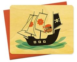 Halloween Pirate Card from Night Owl Paper Goods. Just click image to find this card on the website.
