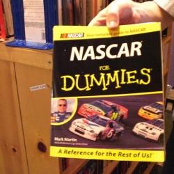 Everyone will enjoy the NASCAR Fiction by Sharyn McCrumb.