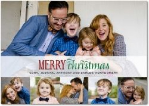 A Christmas Card from Tiny Prints