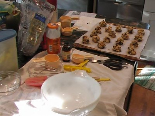Not Martha Stewart's Cooking Chocolate Chip Cookies