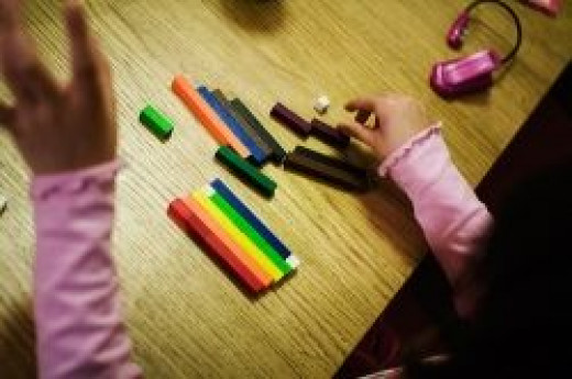 Math can be found in Cuisenaire Rods