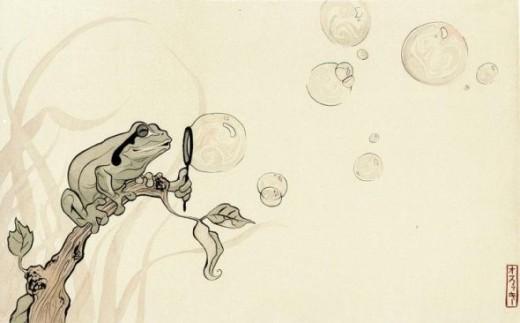 Frog Bubbles